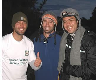 Op Camping Los Fogones vóór het bereiken van de top van de Volcan Baru